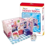 3D puzzle Honey Room - kúpelňa