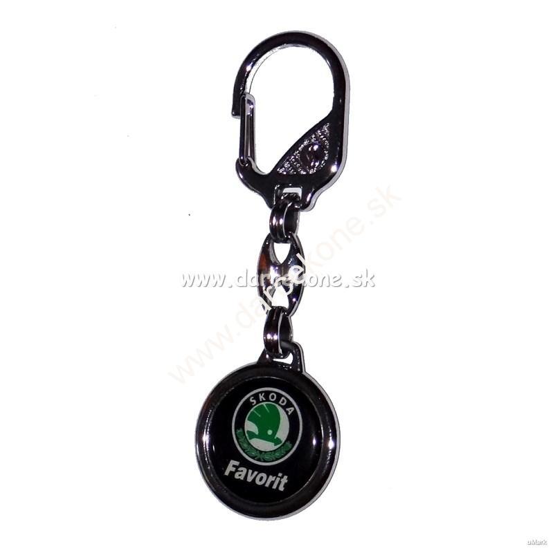 Auto kľúčenka prívesok Škoda Favorit 2612c1d766f