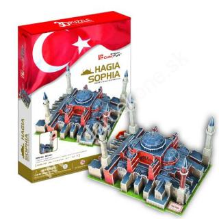 3D puzzle Hagia Sopha v Istanbule