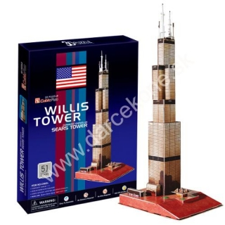 3D puzzle Willis Tower (Sears Tower)